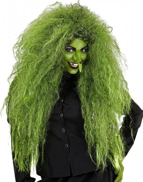 Perruque de sorcière effrayante pour femme