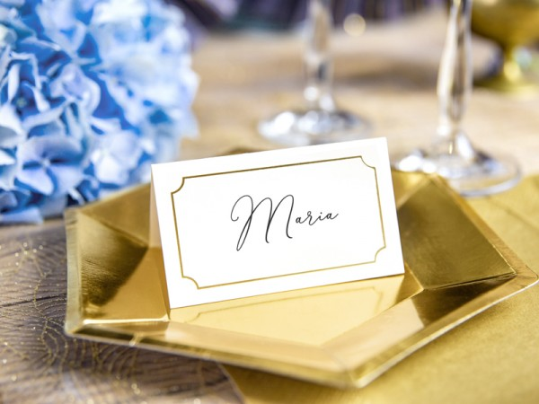 10 Fenice place cards 9.5 x 5.5cm