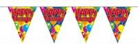 Spectacular Happy Birthday Wimpelkette 10m