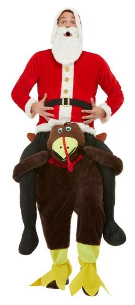 Thanksgiving kalkoen piggyback kostuum