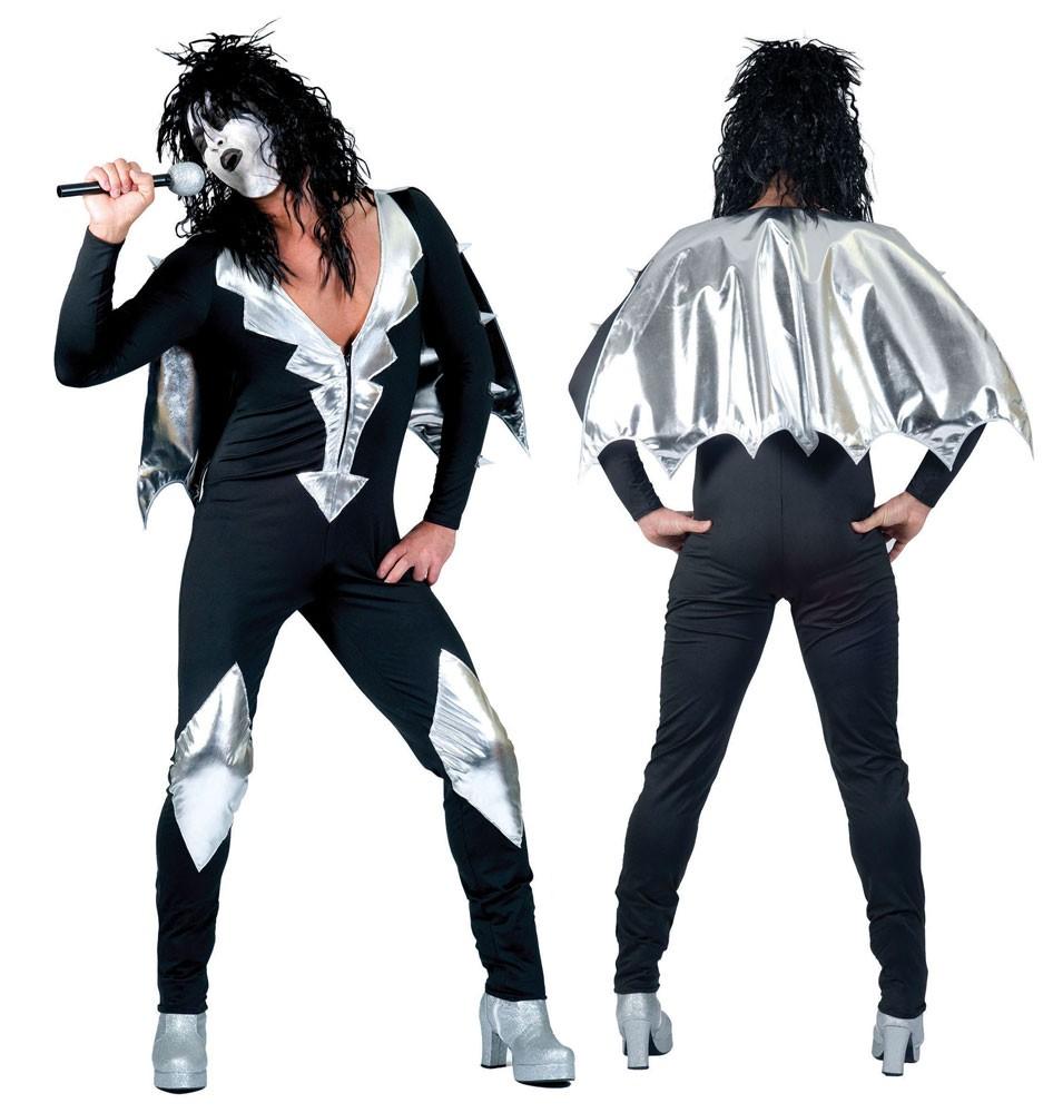 Rockstar Kiss 80er Jahre Kostum Fur Herren Party De