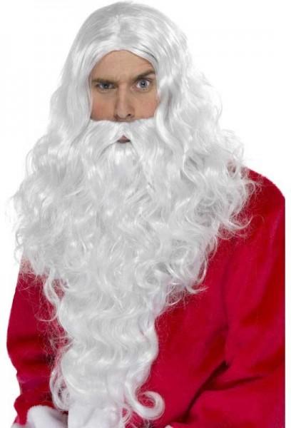 Extralanges Weihnachtsmann-Set