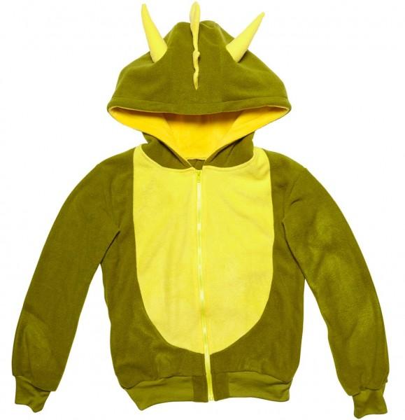Jersey de felpa dragón verde