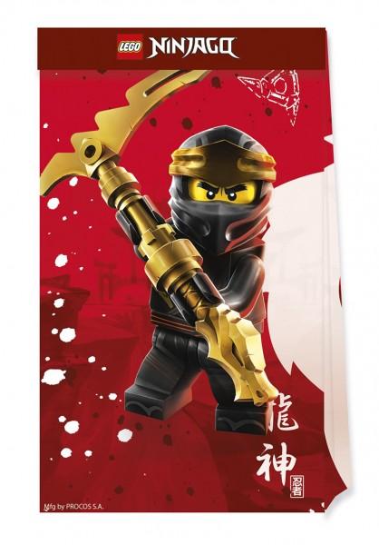 4 Lego Ninjago party bags