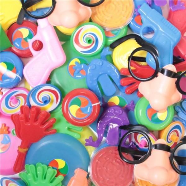 64-teilige Pinata Füllung Spielsachen
