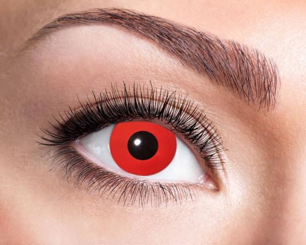 Teufelsrote 3-Monats Kontaktlinsen