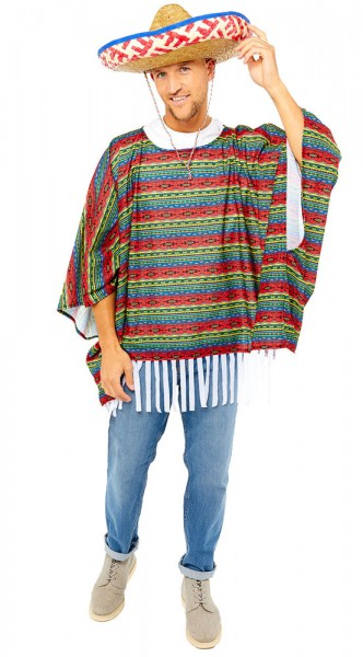 Mexikanisches Kostüm für Herren 3-teilig