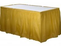 Tischumrandung Mila gold 4,26m x 73cm