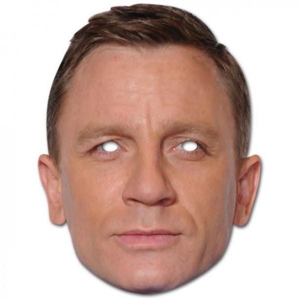 Daniel Craig Pappmaske