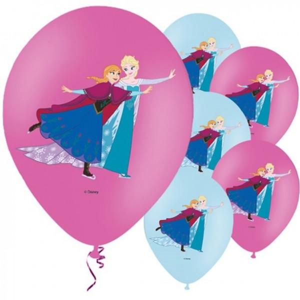 6 Frozen Latexballons 28cm