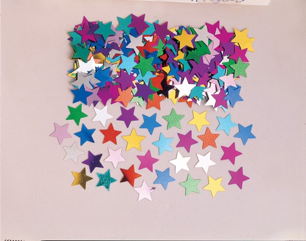 Sparkling Star Streudeko Stella Colorful Metallic