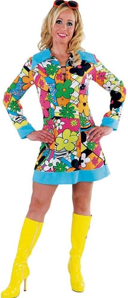 d42d7fc7b3e85 Hippie Flower Power costume for women | Party365.com