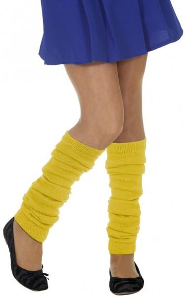 Beinstulpen Gelb