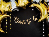 Goldene Bride to be Girlande 80cm