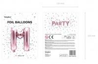 Vorschau: Folienballon M roségold 35cm