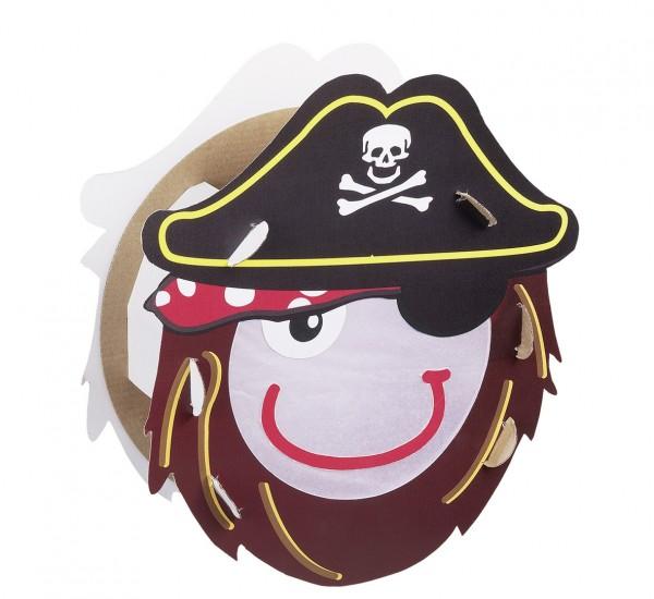 Captain Schlitzohr Ensemble artisanal de lanternes de pirate 8 pièces
