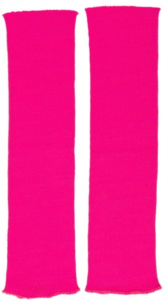 Neonowo-różowe getry z lat 80-tych