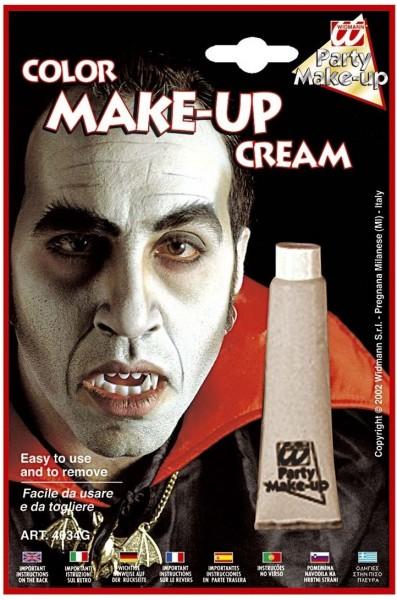 Creme Make-Up Tube Grau
