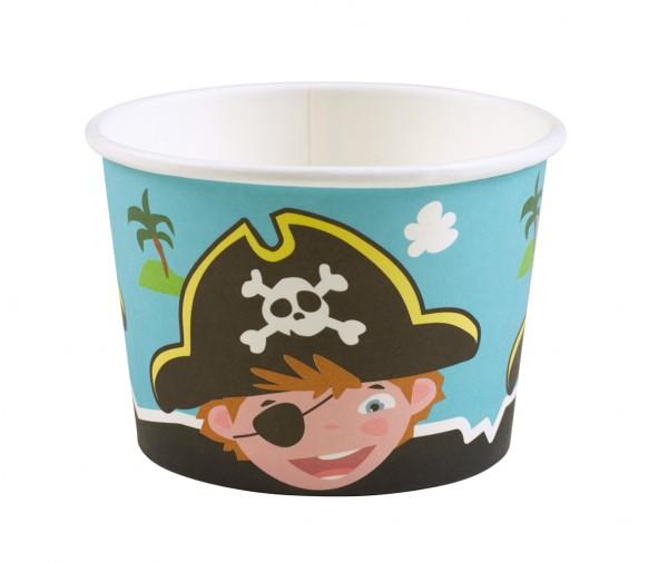 8 Kleiner Pirat Tommy Eisbecher