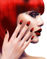 Tina Teufel Fingernägel 12er Set