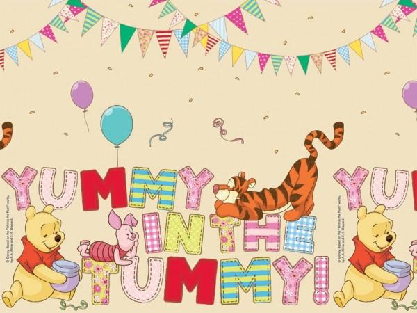 Party Winnie Puuh Tischdecke 1,8 x 1,2m