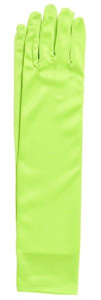 Elegante Neon-Grüne Handschuhe