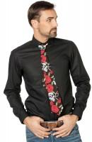 Dunkle Rosen Krawatte Für Herren
