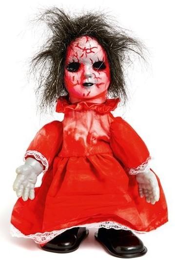 Laufende Zombie Puppe animiert 31cm