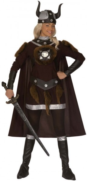 Fearless viking warrior costume