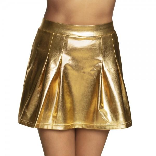 Goldener metallic Rock Lexie