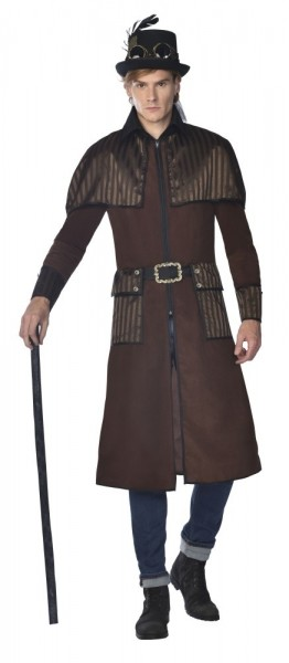 Steampunk Trenchcoat Jacket for Men