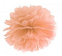 Pompon Romy pfirsich 25cm