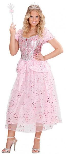 Vestido de hada rosa, vestido de princesa