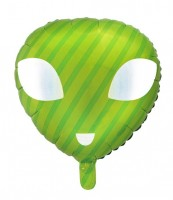 Alien Rygel Folienballon 47 x 48cm