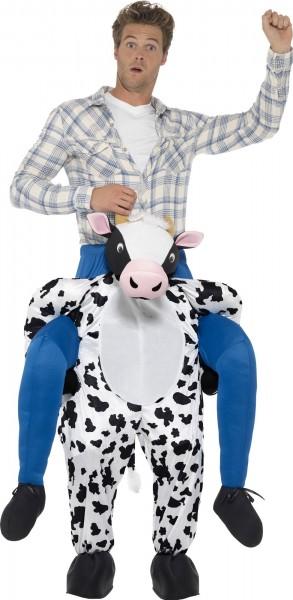 Boer koe piggyback kostuum