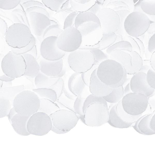 amusant de confettis blancs pétillants! 100g