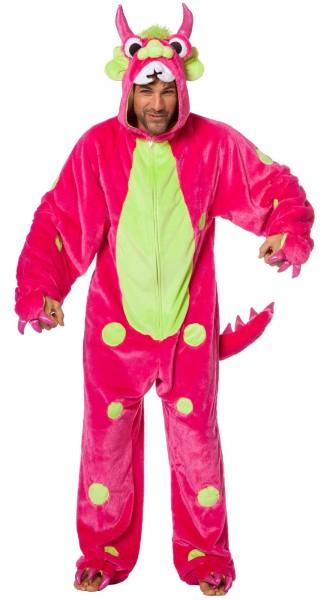 Spooky Pinky Monster Kostüm