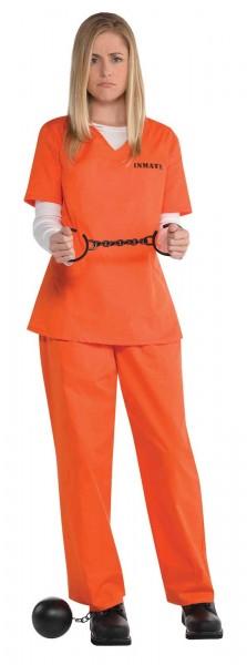 Sträfling Gretchen Kostüm Für Damen