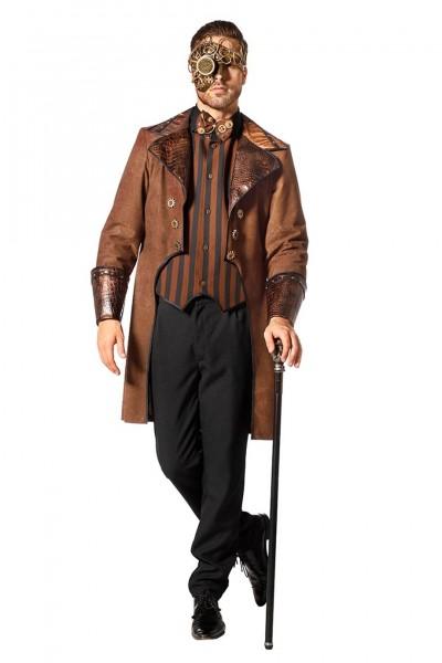 Edles Steampunk Kostüm für Herren