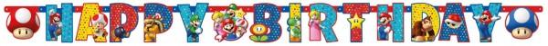 Collana Super Mario Happy Birthday 190x18cm