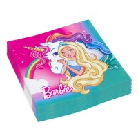20 Barbie-Dreamtopia Servietten 33 x 33cm