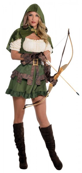 Lady Robin Hood Archer Costume