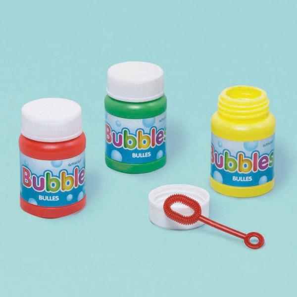 Set di 6 Mini Soap Bubbles Party Fun 29ml