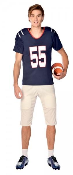 Costume quarterback football américain pour homme