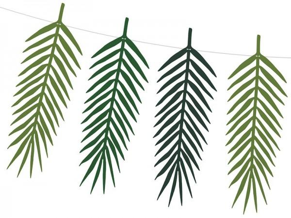 Conjunto de guirnalda de hojas de palmera Kohakai
