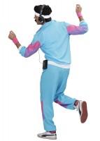 Hellblauer Hipper Trainingsanzug