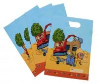 8er Pack Geschenktüten Baustelle Kindergeburtstag