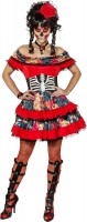 Gerüschtes Alvida Grusel Kleid
