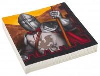 20 Ritter der Tafelrunde Servietten