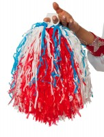 Cheerleader Pompon Go America